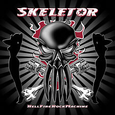SKELETOR - HellFireRockMachine Gatefold Cardboard-Sleeve CD + Bonus 2004 *NEW*