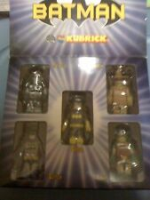 DC Direct Exclusive Kubrick 5 Pack Batman/Robin/Batgirl/Freeze NEW FREE SHIP US