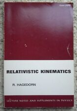 Relativistic Kinematics:A Guide to the Kinematic Problems of H../R.Hagedorn/1980