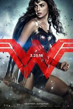 BATMAN VS SUPERMAN movie poster WONDER WOMAN poster