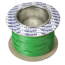 Model Railway Layout Lighting, DCC Chip etc Wire 100m Roll 10/0.1mm 0.5A Green