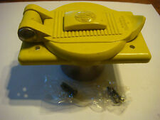 Hubbell Marine Electrical 30 AMP Single Cover Plate NEW NOS Fiberglass