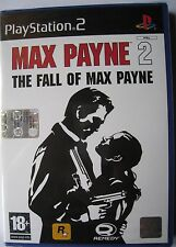 MAX PAYNE 2 THE FALL OF MAX PAYNE PS2 EDIZIONE ITALIANA NUOVO SIGILLATO