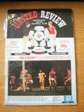 01/12/1982 Manchester United v Southampton [Football League Cup] (Token Missing)