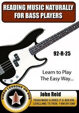 Reading Music Naturally for the Bass Players (92-R-25)