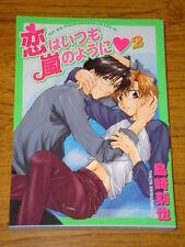 KOI WA ITSUMO ARASHINOYOU NI #2 MANGA BOOK ANIME