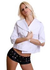 Women's Chic Elegant Blazer Jacket Coat UK Size 10-12