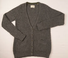 Rag & Bone women Cardigan Medium Small Wool Cable Chunky jumper V-neck UK10 £150