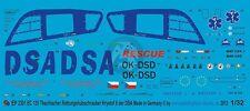 Peddinghaus 1/32 EC135 T2 Czech Rescue Helicopter OK-DSD DSA (Krystof 6) EP2301