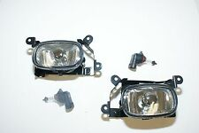 Front fog lights lamp Set New left right Mitsubishi Outlander 2003 2004 2005 200