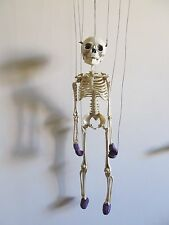 "SKELETON MARIONETTE PUPPET 17"" WITH STRINGS AND 8-STRING CONTROLLER 17-3-11"