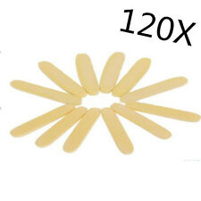 120pcs Portable Soft Compressed Facial Cleaning Sponge Stick Face Care Yellow E