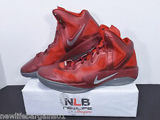 2012 Nike Zoom Hyperfuse Supreme Team Red/Slv [469757 600] Men's Size 11.5
