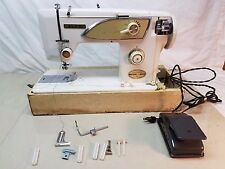 Vintage Necchi-Alco A509-2Sewing Machine with Case