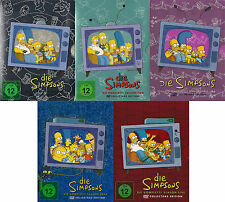 LA Simpsons serie completa temporada 1+2 + 3+4 + 5 NUEVO 19 DVD ' s The Simpsons