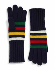 Hudson's Bay Company HBC Silverlake Navy Multi Stripe Gloves