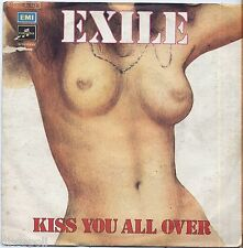 "EXILE - Kiss you all over - VINYL 7"" 45 LP 1978 NEAR MINT COVER VG- CONDITION"