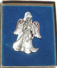 Collectible Gloria Duchin Pewter Angel Love Will Find You Ornament