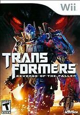 Transformers: Revenge of the Fallen GAME NINTENDO Wii & Wii U **FREE SHIPPING!!