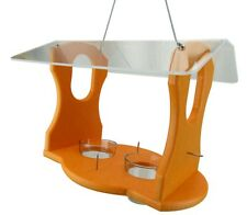 JCs Wildlife Ultimate Poly Recycled Lumber Fruit and Jelly Oriole Buffet Feeder