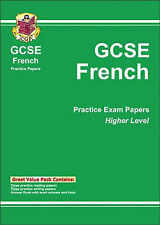 GCSE French: Pt. 1 & 2: Higher Level Practice Papers by CGP Books (Paperback,...