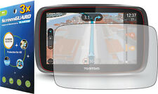 "3x Clear LCD Screen Protector Guard Cover Film for Tomtom GO 500 5000 5.0"" GPS"