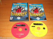 SIMCITY 4 Deluxe Edition comprende RUSH HOUR EXPANSION PACK. PC-CD. SIM CITY 4