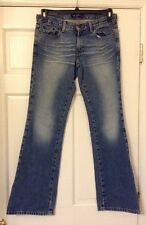 AMERICAN EAGLE JEANS SIZE 6 X 32 STRAIGHT JEANS