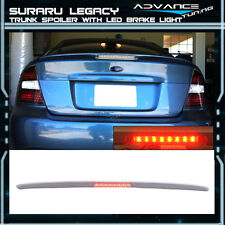 05-09 Fit For Subaru Legacy Sedan 4Dr Trunk Spoiler LED Brake Light (FRP)