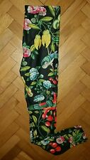 TROPICAL women leggings. 3D stretch yoga, Bikram, dance, fitness, pilates S/M