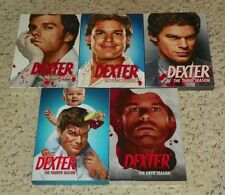 Dexter - The Complete Seasons 1-5 (DVD: 20 Discs - 2011)