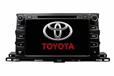 "9"" Touchscreen GPS Navigation Bluetooth Multimedia Radio for Toyota Highlander"