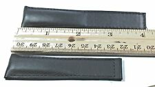 100% Genuine Tag Heuer Black Leather Watch Band FC6171 22MM-padded - deployment