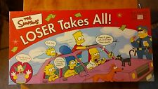 THE SIMPSONS LOSER TAKES ALL BOARD GAME. NIB. 2001.