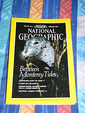 National Geographic Vol. 177, No.2 February 1990, monthly
