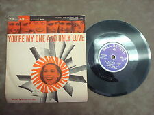 "FACINATION- YOU'RE MY ONE AND ONLY LOVE FEATURING BY BILL LUNDY   ""SINGLE"""