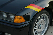 German Flag Fender Accent Decal- BMW Audi VW Porsche Mercedes
