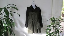 NWT Coach Colorblock Trench Coat Jacket F86035 Military Multi Medium