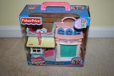 Fisher Price Loving Family Sweet Streets Candy Shop and Dance Studio