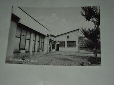 CARTOLINA RARA DI CERCHIARELLO-PERO(MI) ANNI' 50 LA SCUOLA NON VIAGGIATA