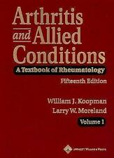 Arthritis and Allied Conditions: A Textbook of Rheumatology (Two Volum-ExLibrary