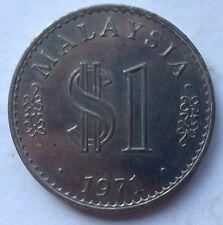 Malaysia $1 1971 coin (B)