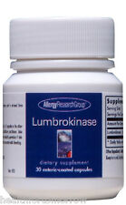 Allergy Research Group Lumbrokinase 30 caps - Exp Date: 04/2018