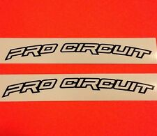 "PRO CIRCUIT Front Fender Medium 8"" Decals Stickers Kawasaki KX 250 450 100 F CRF"