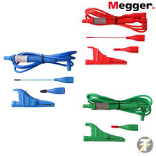 Megger 1001-991 3 Wire un-fused Test Lead Set 1500 & 1700 Multifunction Testers