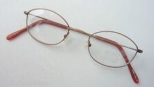 Leo XXL federleichte Brillenfassung in Naturbraun extrakleine Brille GR:S 45-20