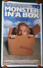 MONSTER IN A BOX 1992 ORIGINAL ROLLED 1 SHEET MOVIE POSTER SPALDING GRAY