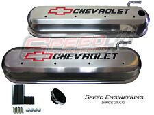 LS Chevrolet Valve Covers Corvette, Camaro, Truck (LS1, LS2, LS3, LS6) Polished