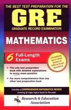 GRE Test Preparation: GRE Mathematics : The Graduate Record Examination by J....