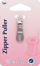 Hemline -Zipper Puller Bronze Ring Attach to Zip, for Easy Open & Close - Pack1